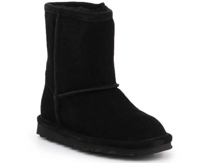 Shoes BearPaw Elle Toddler Zipper Black 1962TZ-011