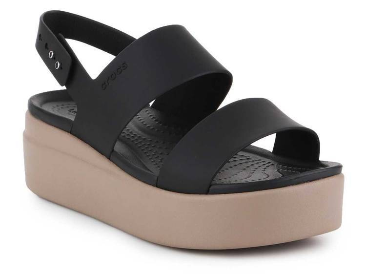 Sandale Crocs Brooklyn Low Wedge W 206453-07H