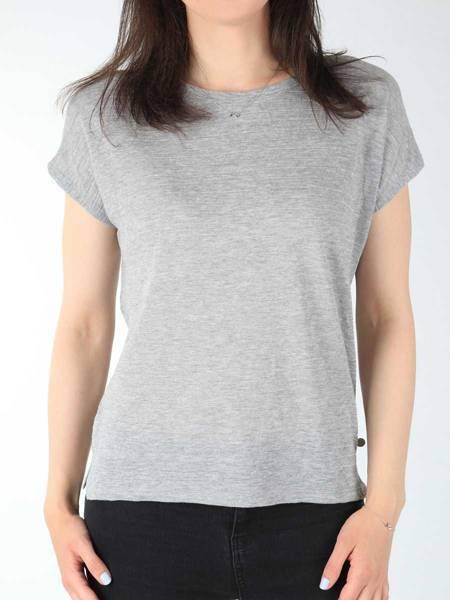 T-shirt Wrangler Relaxed Tee Mid Grey W7331E537