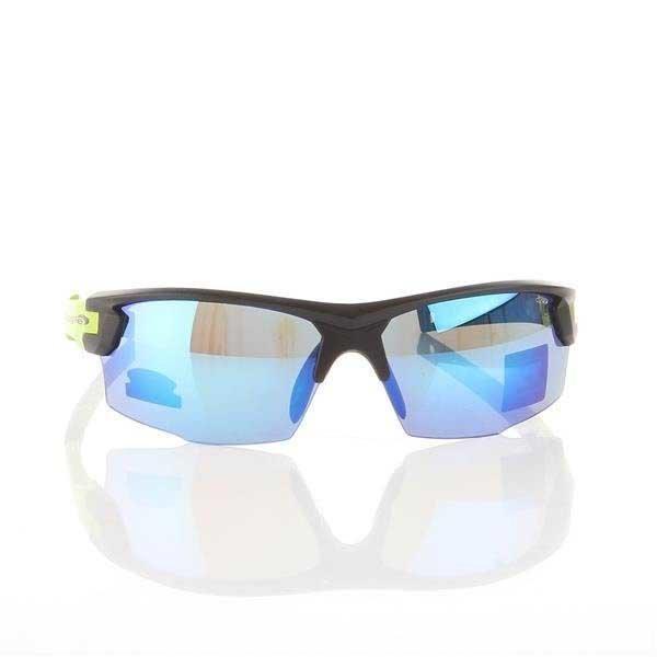 Okulary Przeciwsłoneczne Goggle Matt Black/Green E840-2