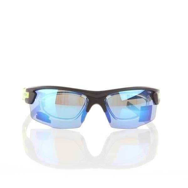 Okulary Przeciwsłoneczne Goggle Matt Black/Green E840-2R