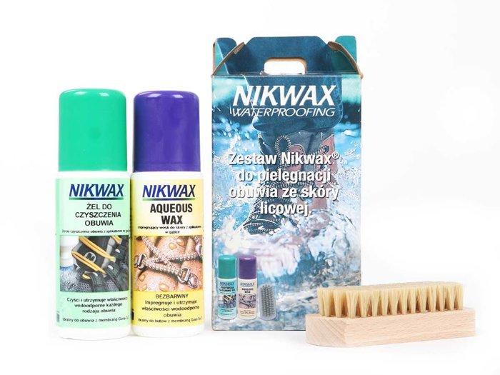 Schuhpflegeset Nikwax Waterproofing