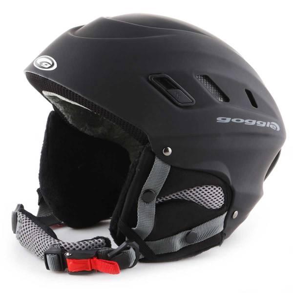 Kask narciarski Goggle Black Matt S200-1