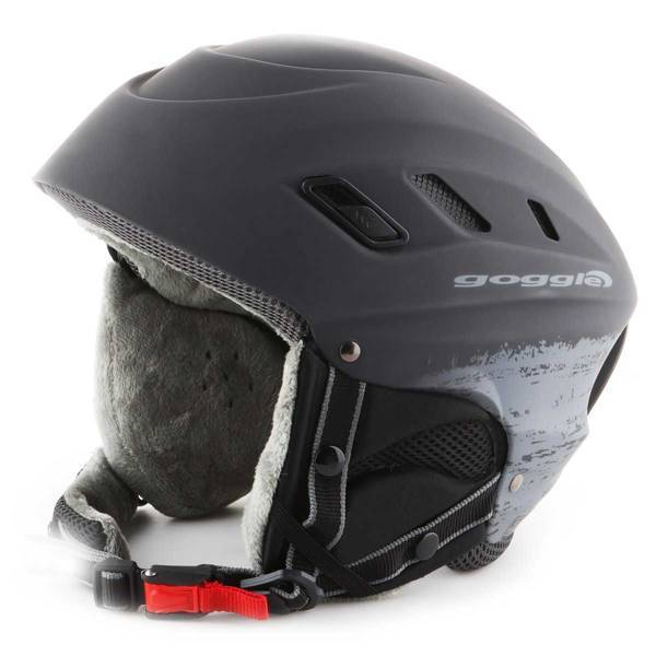 Kask narciarski Goggle Dark Grey Matt S200-4