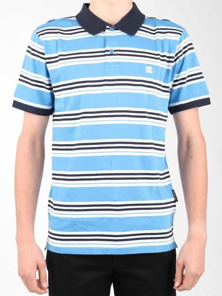 Koszulka polo DC EDYKT03383-BLV0