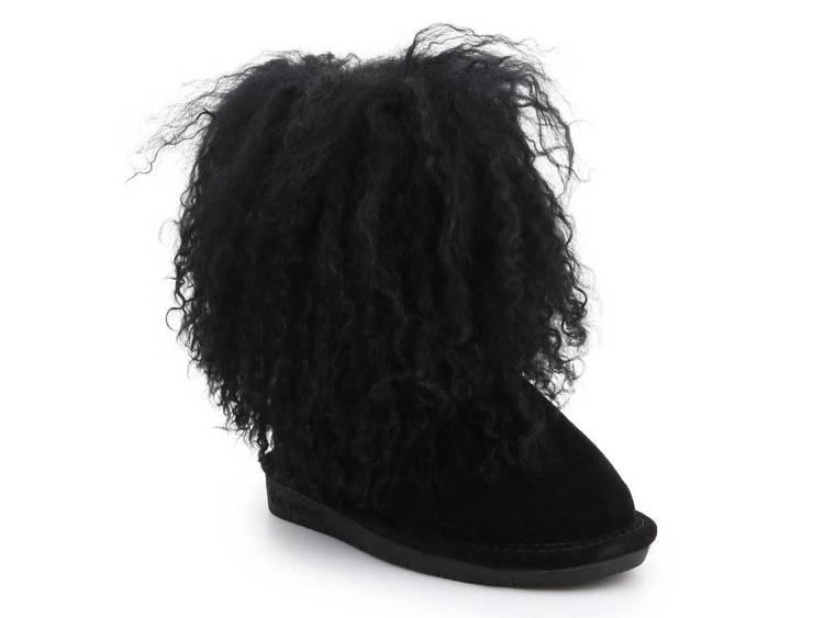 Zimowe buty dziecięce BearPaw 1854Y Black II