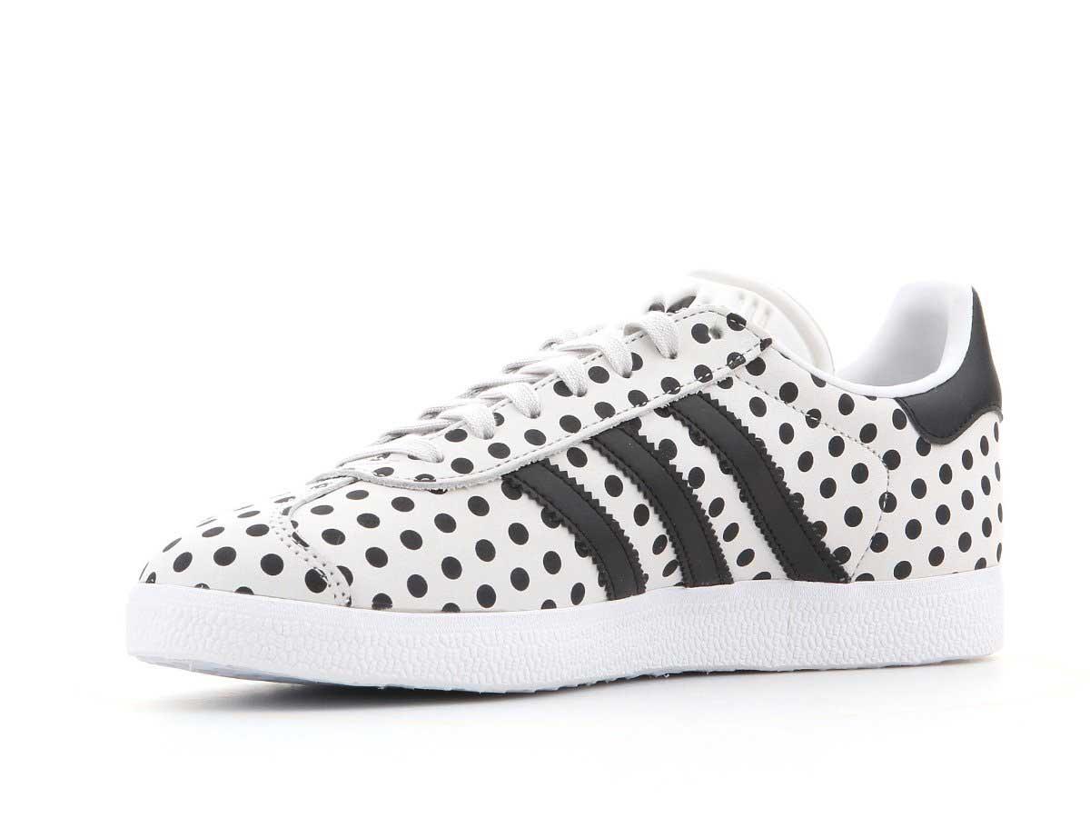 Buty adidas GAZELLE CQ2179 The FARM | Czarny, Biały