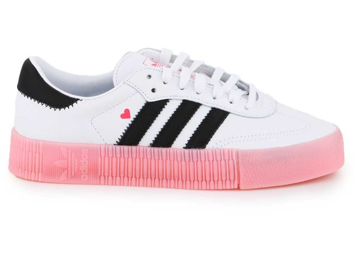 Buty lifestylowe Adidas Sambarose W EF4965