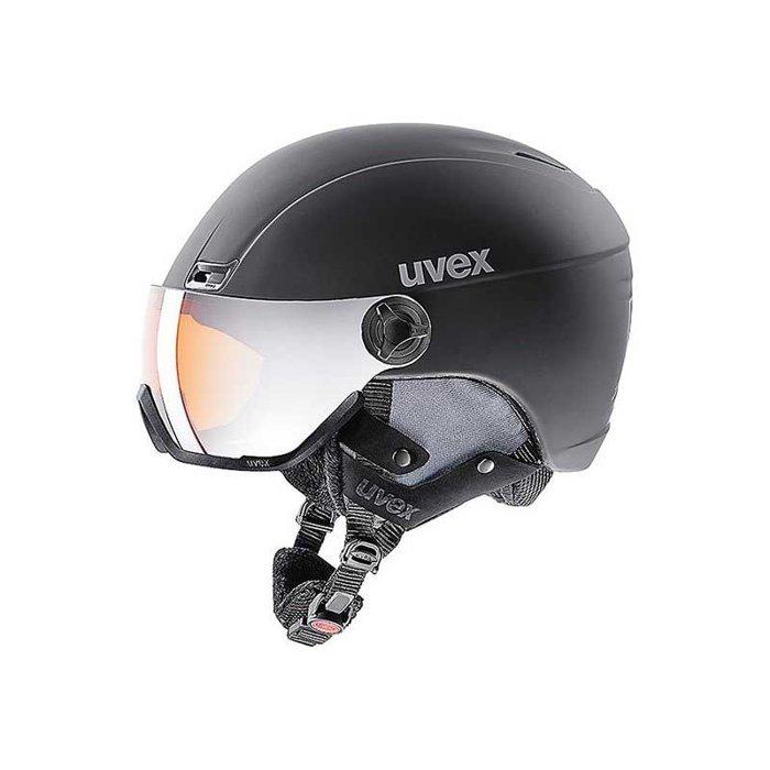 Kask Uvex HLMT 400 VISOR STYLE BLACK MAT 566215-2005