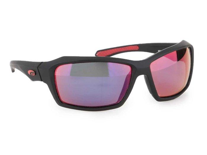 Okulary przeciwsłoneczne Goggle Matt Black E211-2P