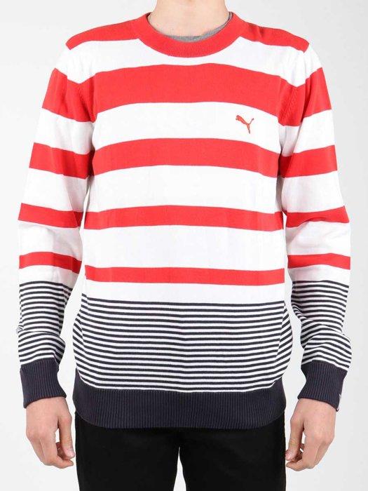 Sweter Puma Striped Sailing Sweater 554124-01