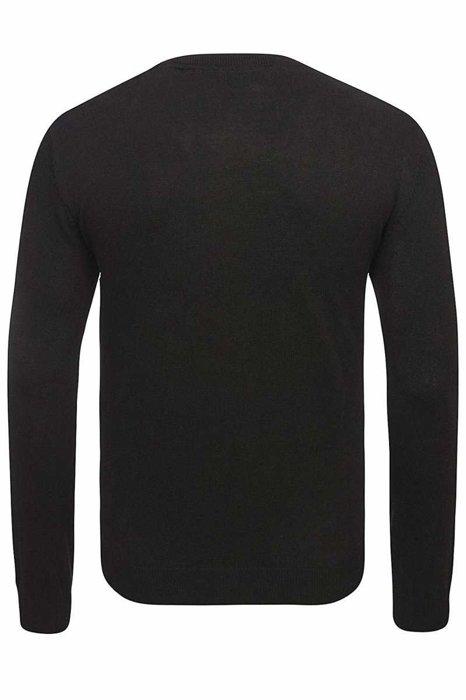 Sweter U.S Polo Assn. V-Neck Pullover Black 51894V-199