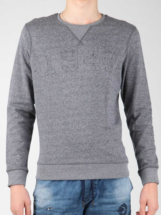 Sweter Wrangler Logo Crew Sweat W6518HG35